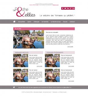 Site web La Roche & Elles