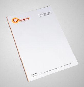 G1bureau papier à entête