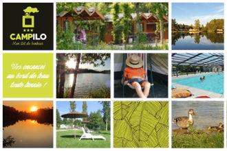Camping Campilô Carte postale