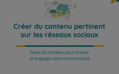 contenu pertinent réseaux sociaux CCI Vendée