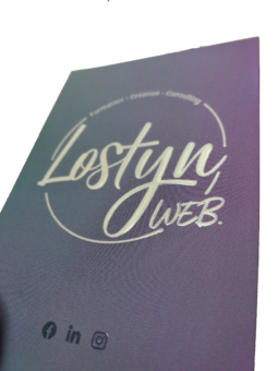 carte de visite Lostyn Web